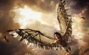Fare parapendio con le ali di Icaro